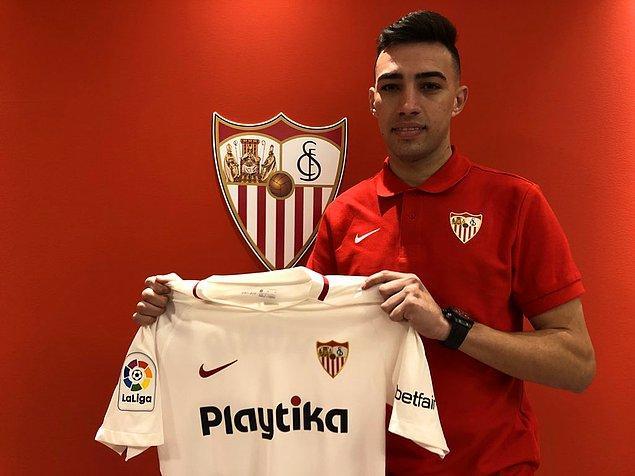 Munir El Haddadi ➡️ Sevilla - [1.05 milyon euro]