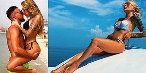 Artık Rize'nin de Yengesi Var! Çaykur Rizespor'un Yeni Transferinin Instagram'ı Kavuran Eşi Irina Moroziuk