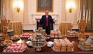 Hesaplar Trump'tan: Hükümetin Kapanması Gerekçesiyle Beyaz Saray'daki Konuklara Fast Food İkram Edildi