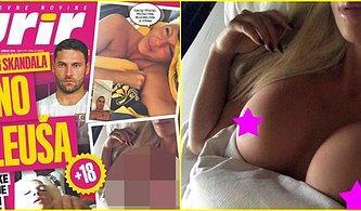 Tosic'in Eşi Jelena Karleusa'nın Başka Bir Futbolcuya Yolladığı Çıplak Fotoğraflar Ortalığı Karıştırdı!
