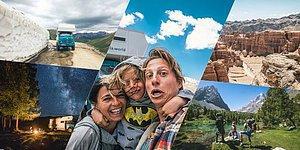 Evlerini Satıp Aldıkları Kamyonla 2 Yıldır Dünyayı Gezen Aileden Baktıkça İç Çektirecek Fotoğraflar