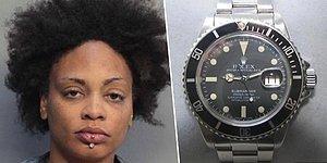 Zengin İş Adamını Soyup, Çaldığı 4 Rolex Saati Vajinasına Sıkıştıran Kadın!
