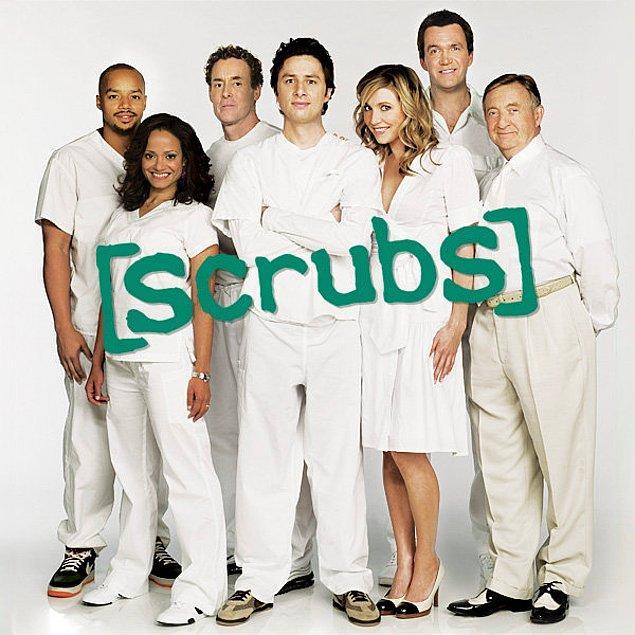 5- Scrubs - IMDb 8,4