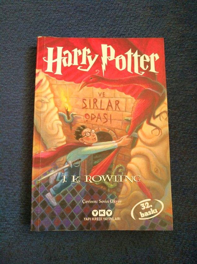 5- J. K. Rowling - Harry Potter ve Sırlar Odası