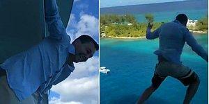 Geminin 11. Katından Denize Atladığı İçin Ömür Boyu Cruise Seyahatlerinden Men Edilen Turist