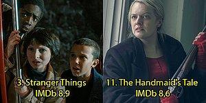 Harıl Harıl İzleyecek Bir Şeyler Arayanlar Buraya! IMDb Puanlarına Göre Son 5 Yılın En İyi 25 Dizisi
