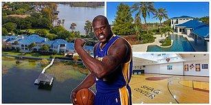 Efsane Basketbolcu Shaquille O'Neal'ın Saray Yavrusu Evi 22 Milyon Dolara Satışta!