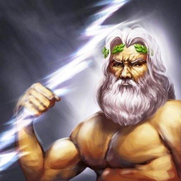 Sen Zeus'un sınırsız gücüne sahipsin!