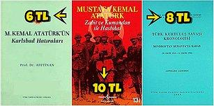Mustafa Kemal Atatürk'ü Her Yönüyle Kavramanızı Sağlayacak, 2.500 TL'den Katbekat Ucuz En İyi 20 Kitap