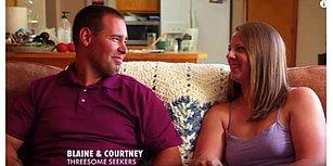 İlişkiye Girmek İçin Üçüncü Arayan Amerikalı Çift Blaine ve Courtney