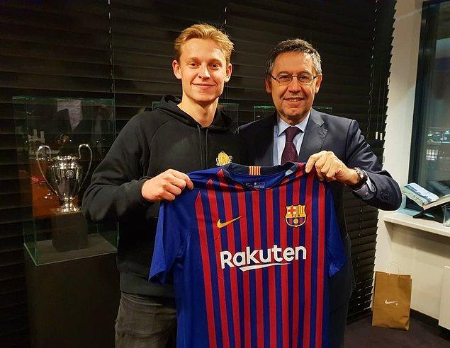 Frenkie de Jong ➡️ Barcelona - [75 milyon euro]