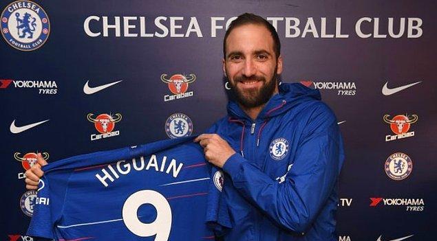 Higuain ➡️ Chelsea