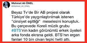Mehmet Ali Önel Beyaz TV'ye Konuştu: Eşcinsellik Modası Nüfusu Yok Ediyor, Cinsiyet Eşitliği Fıtrata Aykırı, BTS Grubu Cinsiyetsiz ve Ucube!