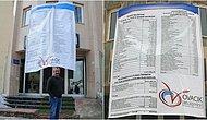 Gelenek Bozulmadı: Komünist Başkan Maçoğlu Gelir ve Gider Tablosunu Pankartla Halka Duyurdu