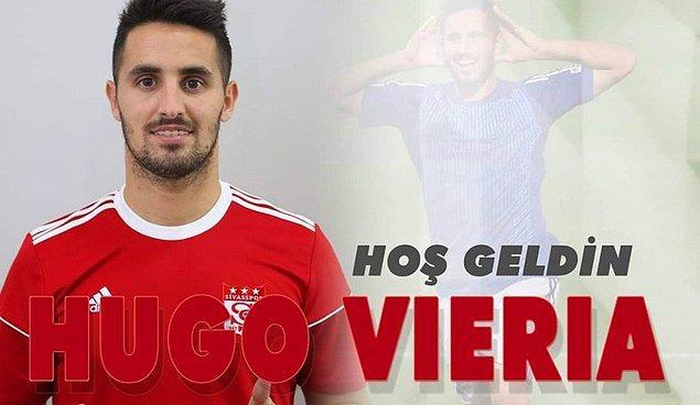 Hugo Vieira ➡️ Sivasspor