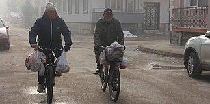 Hayvanlar İçin Pedallıyorlar: 10 Yıldır Bursa'da Sokak Sokak Gezerek Ekmek Toplayan Dedeler