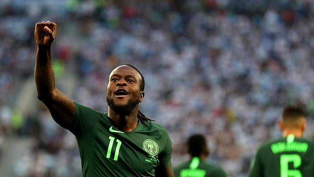 İngiltere U-21 takımında oynadığı bir maçta oyundan alınmasına kızınca doğup büyüdüğü Nijerya takımının formasını giymeye karar verdi.