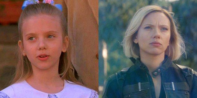 "4. Scarlett Johansson - North"" (1994) / Marvel's Avengers: Infinity War"