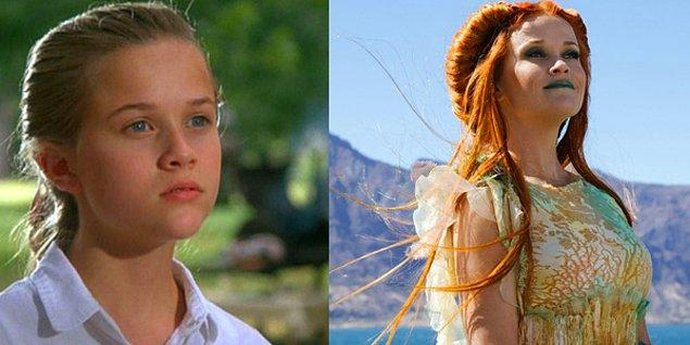 8. Reese Witherspoon - The Man on the Moon (1991) / A Wrinkle In Time