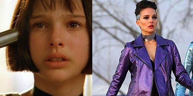 9. Natalie Portman - Léon: The Professional (1994) / Vox Lux