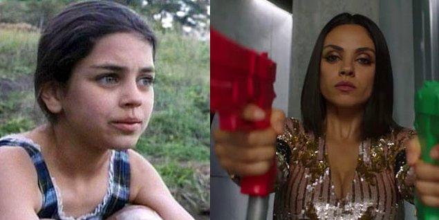 10. Mila Kunis - Piranha (1995) / The Spy Who Dumped Me