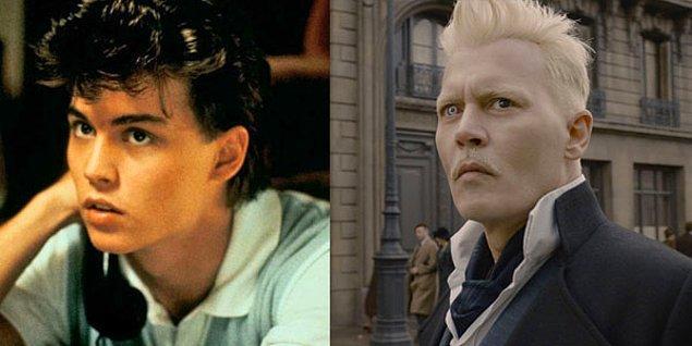 11. Johnny Depp - A Nightmare on Elm Street (1984) / Fantastic Beasts: The Crimes of Grindelwald