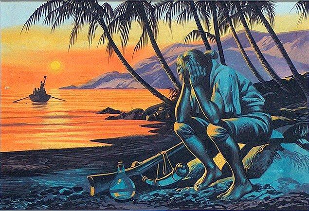 1709: Alexander Selkirk, 4 sene 4 ay Şili sahiline 400 mil uzaklıktaki bir adada tek başına yaşadıktan sonra kurtarıldı. Daniel Defoe'nun Robinson Crusoe adlı kitabına model olmuştur.