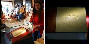 Alamayanlara Müjde! Yılmaz Özdil'in 2.500 TL'lik Kitabı Şimdi de Cam Fanusta Sergileniyor