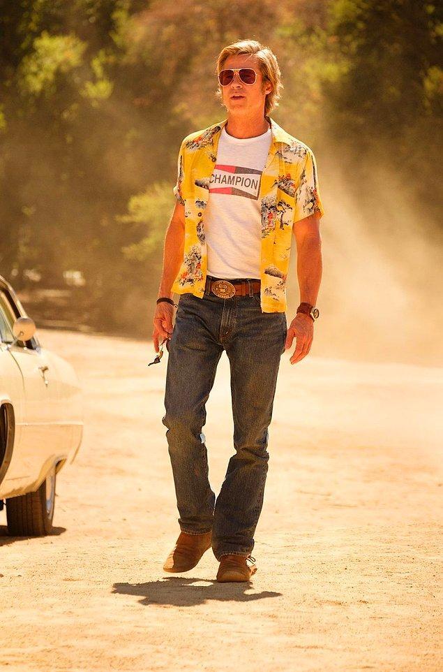 Yılın en çok beklenen filminin başrol oyuncularından biri; Brad Pitt.