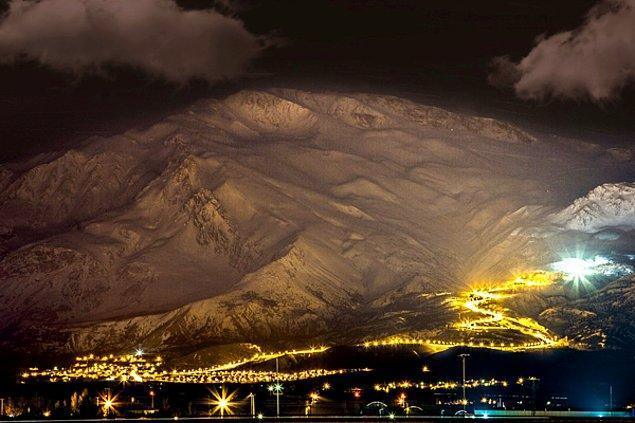 18. Erzincan - Ergan Dağı Kayak Merkezi