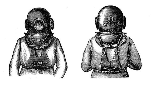 15. Dalış kıyafetleri