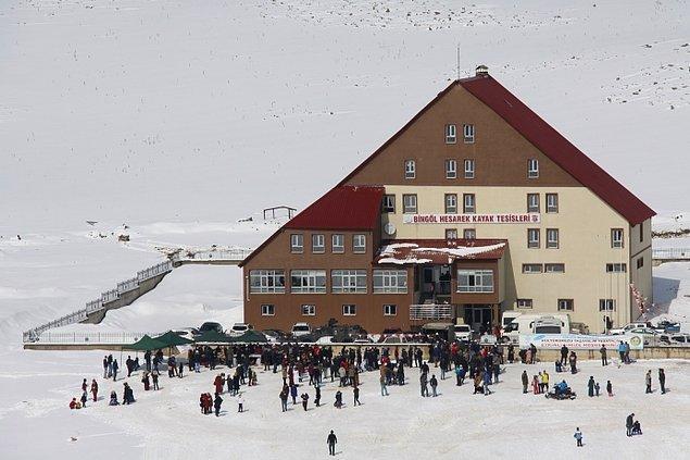22. Bingöl - Hesarek Kayak Merkezi