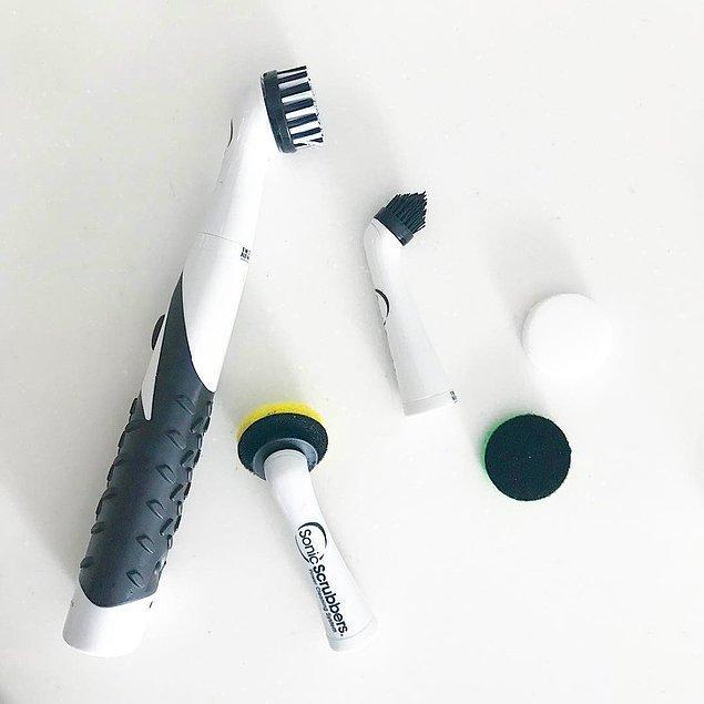 6. Ev temizliği için üretilmiş devasa diş fırçası: