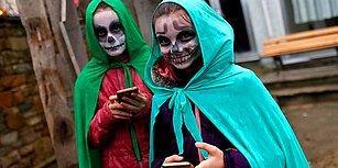 Edirne'de Yerli Cadılar Bayramı: 'Bocuk Gecesi' İçin 950 Nüfuslu Köye On Binler Akın Etti