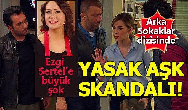 Birkaç yıl önce Arka Sokaklar'da rol alan oyuncunun adı rol arkadaşı Ozan Çobanoğlu ile aşk dedikodularına karışmış, evli olan Çobanoğlu'nun eşi sunucu Ezgi Sertel büyük şok yaşamıştı.
