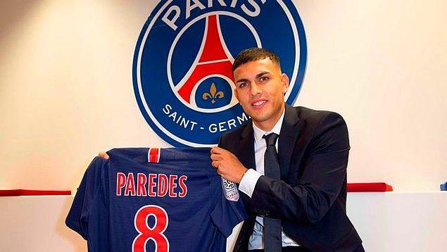 Paredes ➡️ PSG - [40 milyon euro]