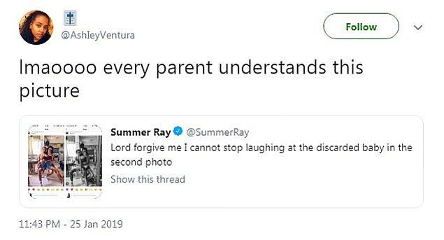 """Biraz da gelen süper komik tepkileri paylaşalım: """"Hahah, her anne/baba bu fotoğrafı anlar."""""""