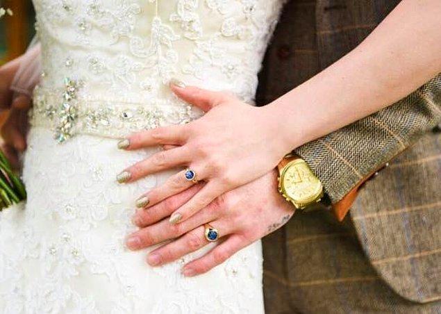 """""""Düğün günümüzü doğumdan 10 ay sonraya seçtik ve artık büyük bir aile olmaya hazırdık."""""""