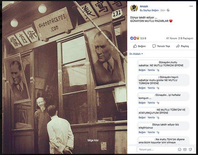 """3. """"Fotoğrafın Çin'deki bir dükkanda asılı Atatürk posterlerini gösterdiği iddiası."""""""