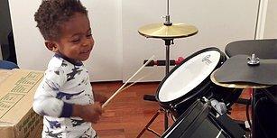 Henüz 4 Yaşında Olmasına Rağmen Performansıyla Büyüleyen Baterist: Justin Wilson