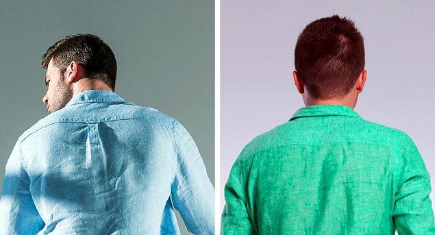 7. Eskiden Amerikalı öğrenciler gömleğin sırtındaki bu detayı kullanarak bir ilişkide olup olmadıklarını belli ederlerdi.