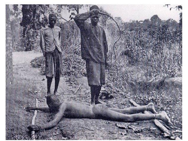"""Kongo'daki bu korkunç manzara ülkeyi ziyaret eden Joseph Clark adlı bir misyonerin şu üzücü sözleri sarf etmesine neden olmuştu: """"Kongo'da olanları tekrar görmektense ölmeyi tercih ederim."""""""