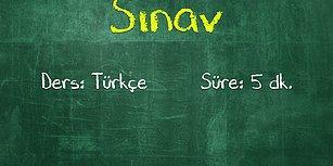 Bu Türkçe Testinde Sadece Okul Birincileri Full Yapıyor!