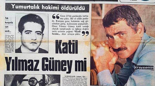 Yılmaz Güney ve ekibi, 1974 yılında Yumurtalık'ta 'Endişe' filmini çekiyorlardı. Dönemin Adana Belediye Başkanı Ege Bagatur'un da katıldığı bir akşam yemeğinde Yılmaz Güney'in hayranları da vardı.