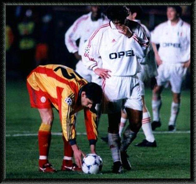 5. Galatasaray'ın Milan'ı son dakikalarda yenerek UEFA şampiyonluğu macerasına çıkmasına sebep olan efsane maç desek?