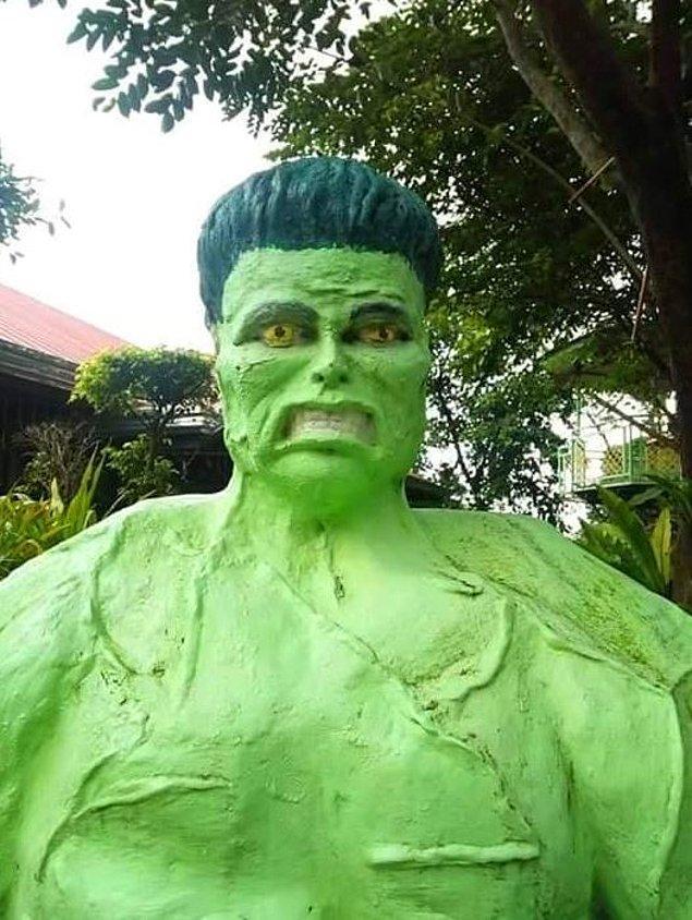 15. Mahallenin serserisi, durduk yerde olay çıkaran müptezel Hulk.
