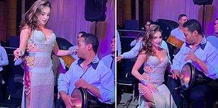 Rus Asıllı Dansöz Anastasia Biserova'dan Gözlerini Alamayan Darbukacı