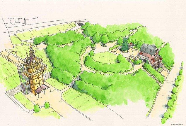 Japonya'nın Nagakute şehrinde yer alan Aichi Hatıra Parkı'nda açılacak Studio Ghibli park 2022'de meraklıları ile buluşmaya hazırlanıyor.