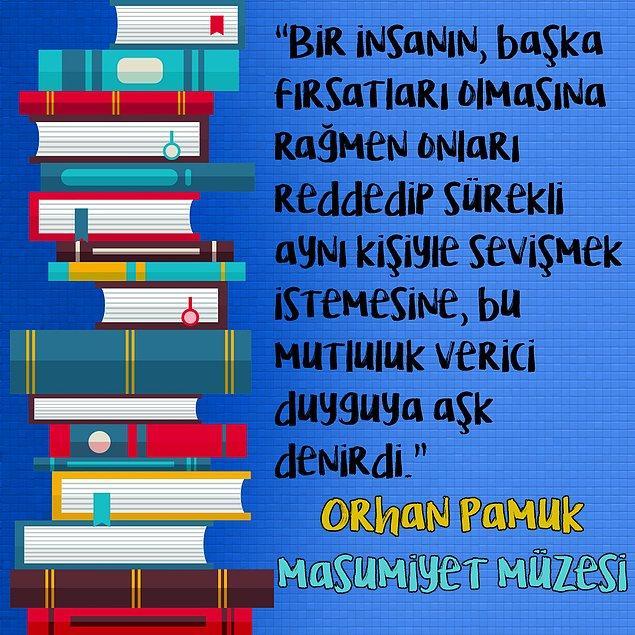 "5. Orhan Pamuk - ""Masumiyet Müzesi"""