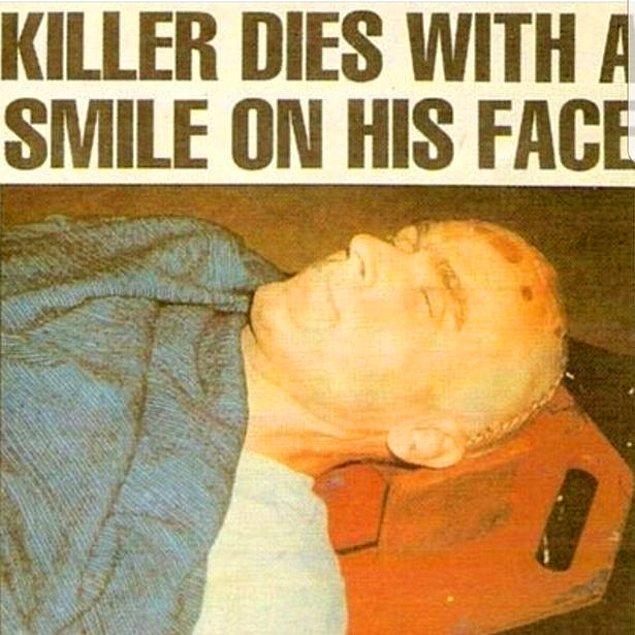 Kısa süre sonra yakalanan katil, Florida Raiford Cezaevine kondu ve idam cezasına çarptırıldı. Bir iddiaya göre orada 4 mahkum Ted'e aynı anda tecavüz etti.